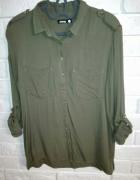 Koszula military khaki Sinsay S...