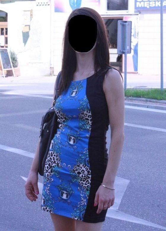 Sukienka Amisu wzory azteckie...