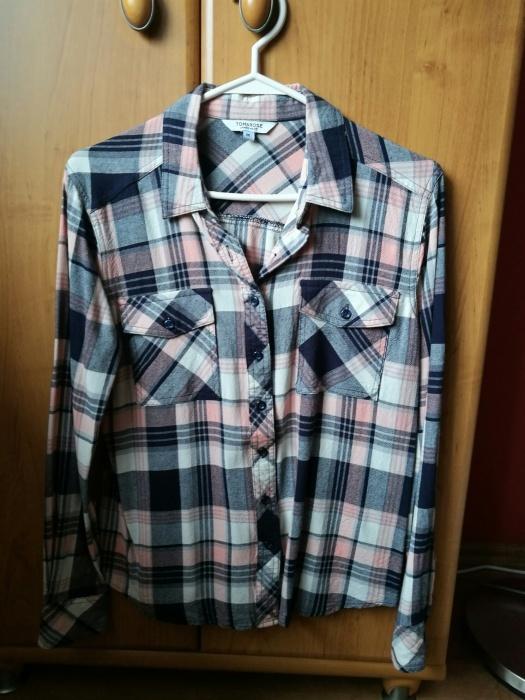 Koszula w modną kratkę rozmiar m