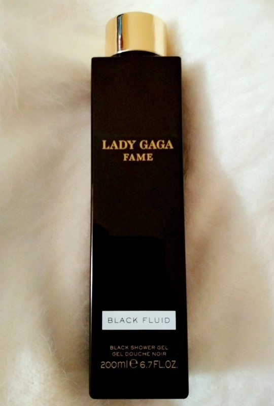 Lady Gaga Fame Black Fluid Shower Gel nowe