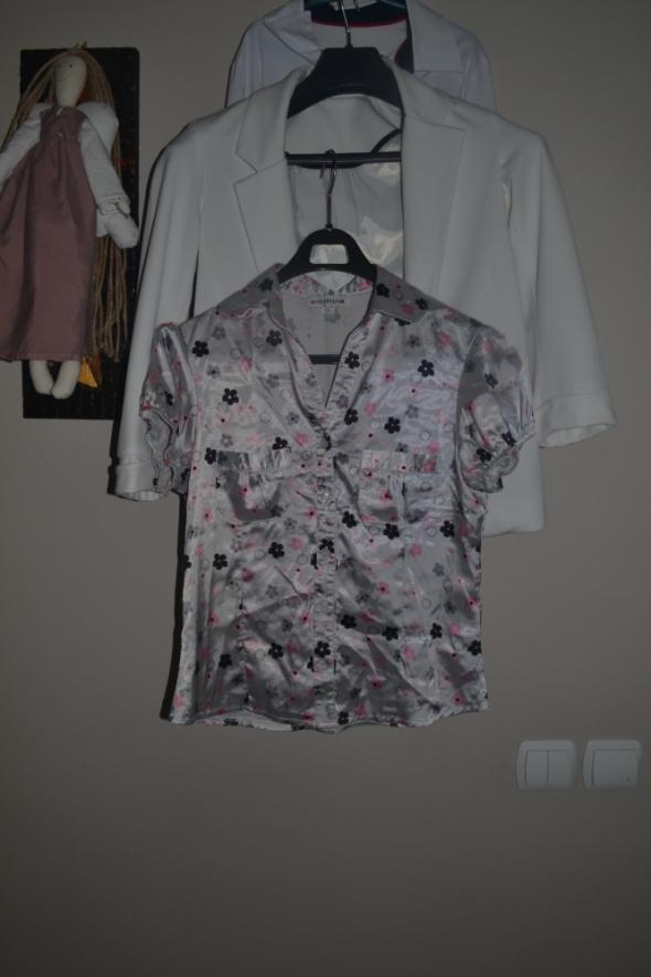 Koszula S M kwiaty