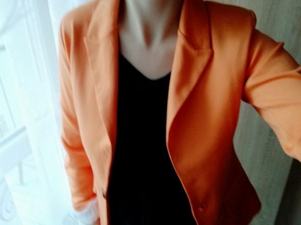 Marynarka żakiet pomarańczowa