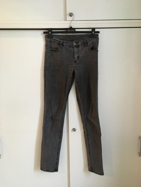 szare jeansy rurki Cheap Monday M...