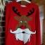 swiąteczny sweterek renifer...