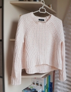 Pudrowy sweterek New Look M...