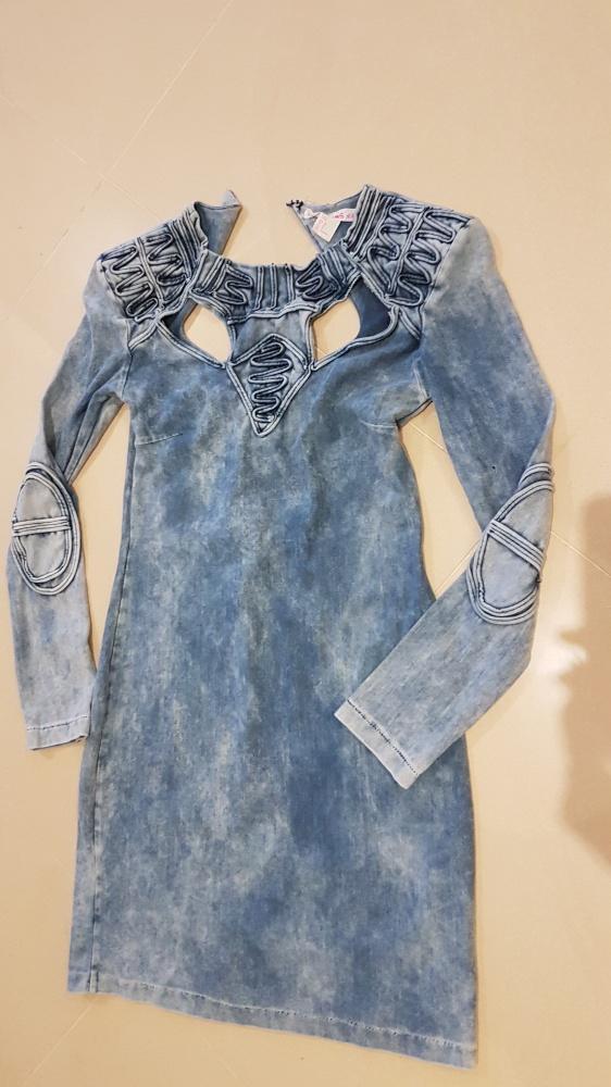 Sukienka marmurowa