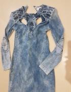 Sukienka marmurowa...