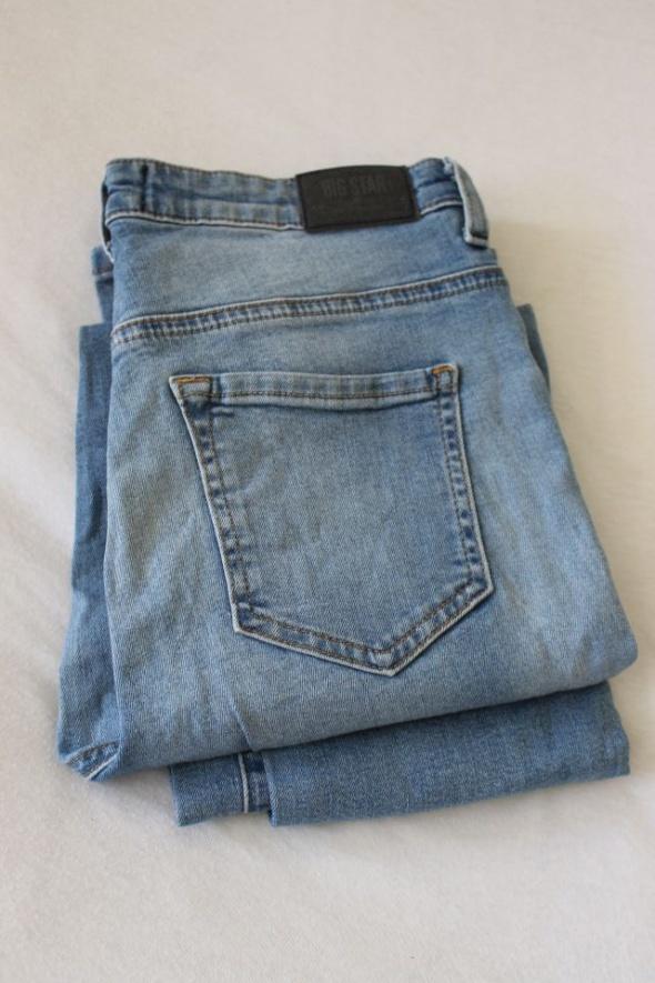 spodnie jeansowe big star...