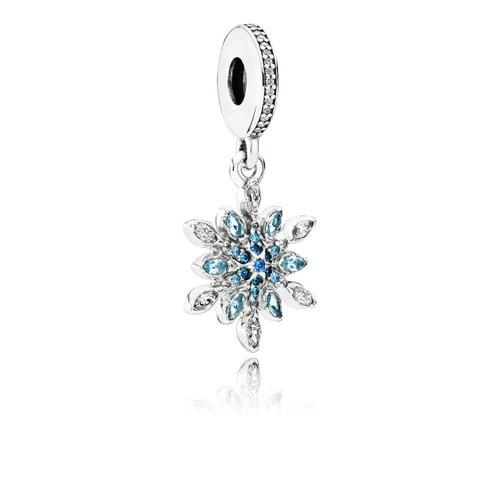 Pandora kryształowa śnieżynka