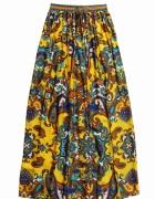 Mango maxi spódnica paisley etno wzorki...