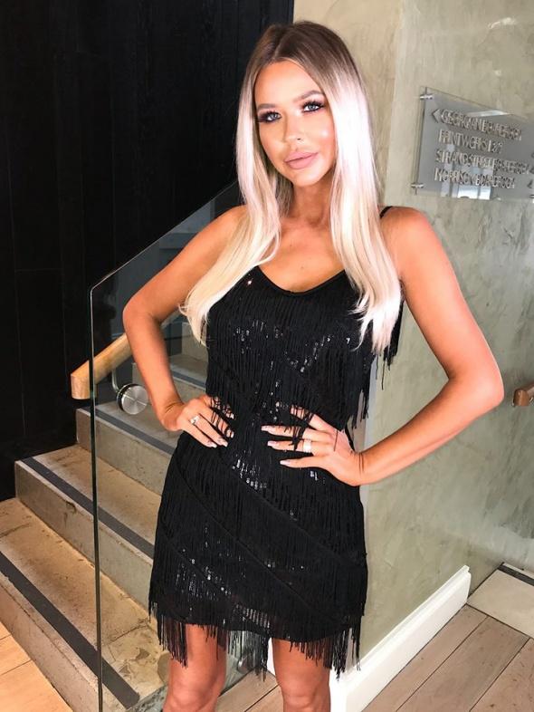 Sexy czarna sukienka