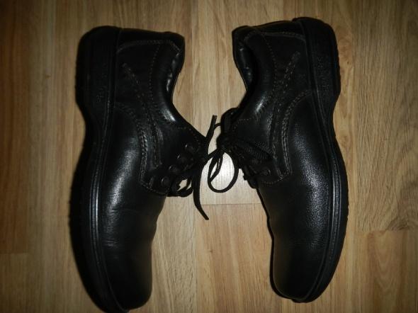 Skorzane buty meskie ARA Scholl 42 43 wygodne shock Komunia Wes...