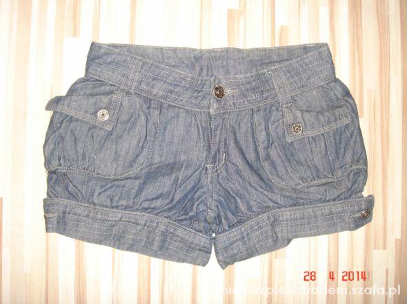 Spodenki jeansowe spodenki bombki