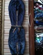 2 pary NEXT ściągacze ze ściągaczami dresy i jeans...