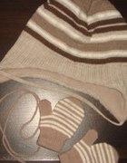 czapka H&M i rękawiczki KOMPLET...