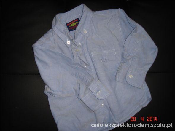 koszula dla bobasa jeans