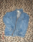 katanka jeansowa dopasowana XS S