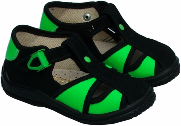 kapcie pantofle pantofelki sandałki ZETPOL nowe 25