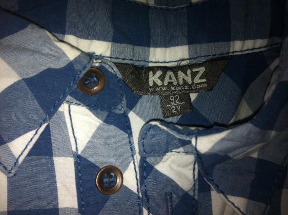 2 pak elegancka koszula krata w kratę kratka 92 98 w  OZHPB