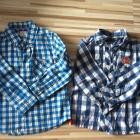 2 pak elegancka koszula krata w kratę kratka 92 98