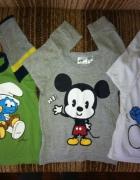 Disney Smerfy Myszka Miki 80 86...