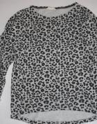 HM cętki pantera panterka bluza bluzka XS 34 S 36...