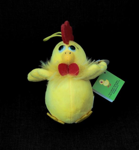 Nowa maskotka kurczak z głosem