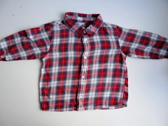 Koszula w kratkę rozmiar 80 H&M
