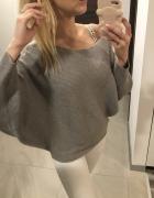 Nowy szary sweter ZARA S M...