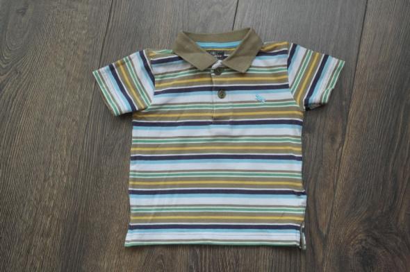 Polo bluzeczka HM w paseczki 74