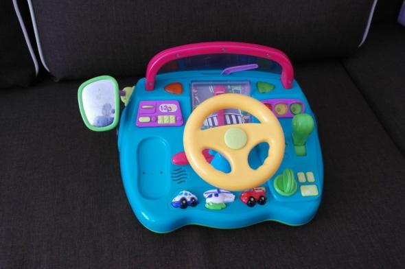 Zabawka kierownica interaktywna duża