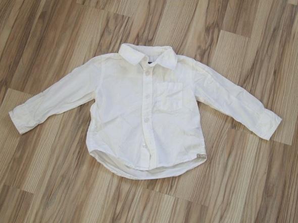 biala koszula chlopieca H&M rozmiar 98
