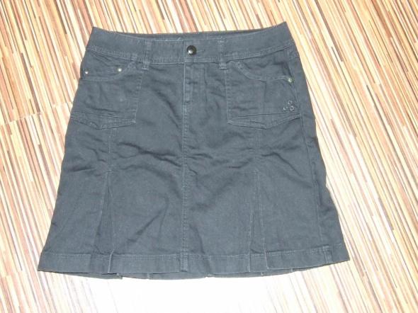 spodnica czarny jeans Esprit rozmiar M...