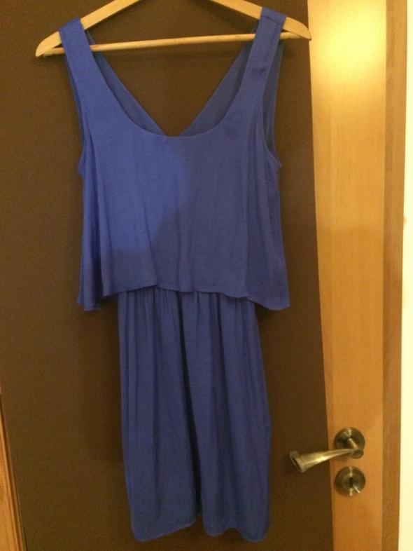 Sukienka niebieska Bershka r S 36...
