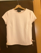 T shirt top pudrowy róż Atmosphere Primark r S36...