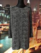 sukienka mini modny wzór panterka hit blog 36 S...
