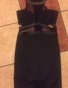 Sukienka z łańcuszkiem...