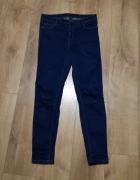spodnie jeans wysoki stan Reserved...