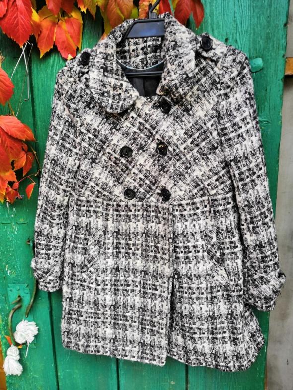 Odzież wierzchnia Płaszcz pepitka NEXT guziki vintage L
