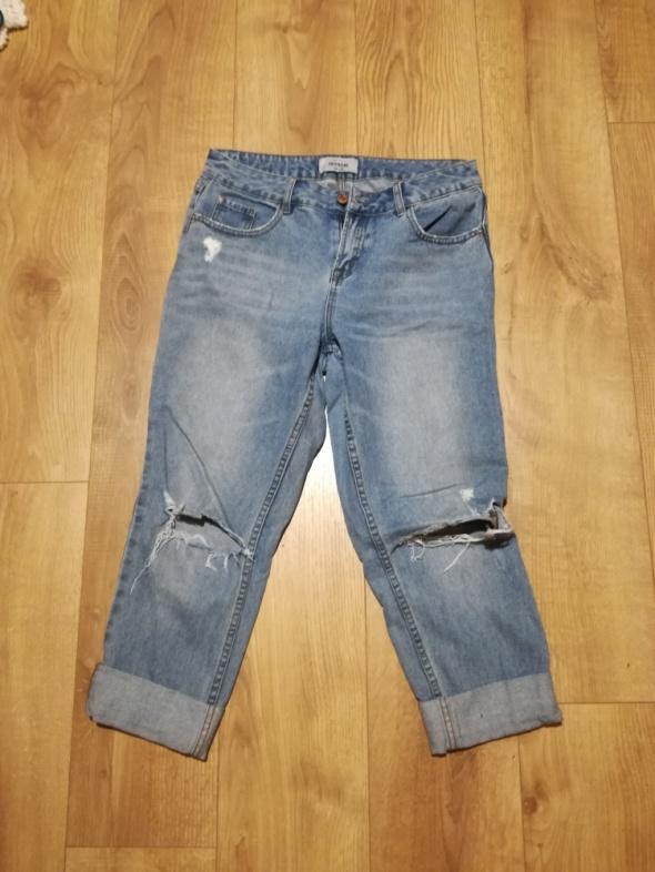 Spodnie jeans boyfriend New Look
