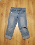 Spodnie jeans boyfriend New Look...