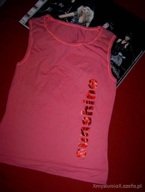 neonowa bluzeczka firmy FILA...