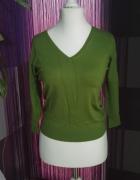 Zielony sweterek...