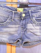 Oryginalne jeansowe spodenki Umbro
