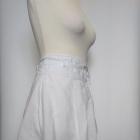 Śliczna biała rozkloszowana spódnica New Look