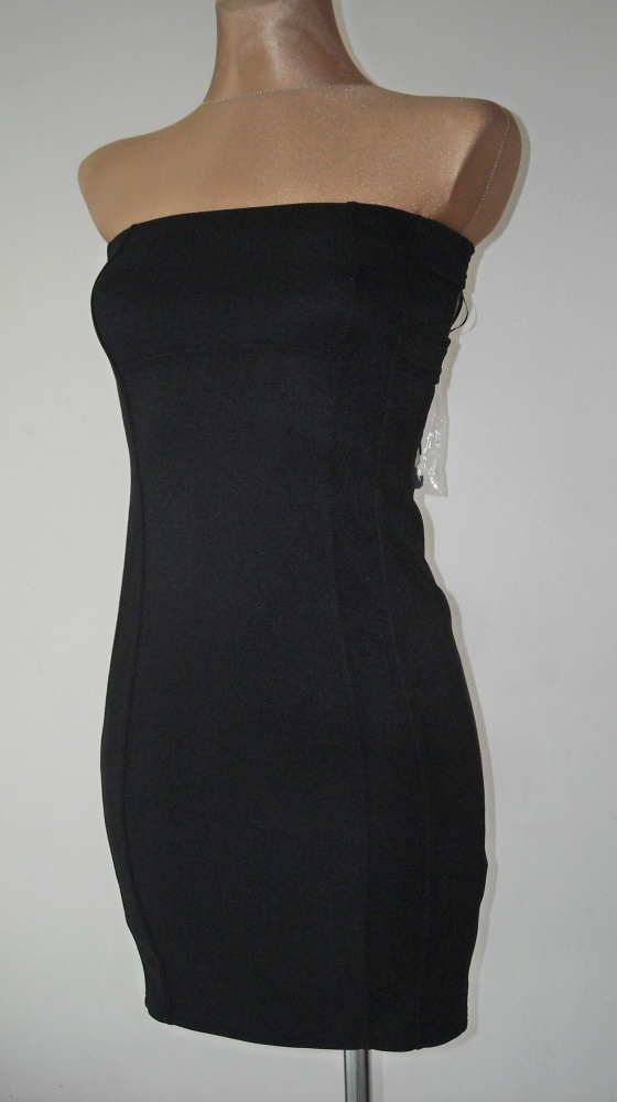 czarna sukienka tally weijl wycięcia xs...