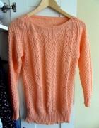 Sweter morelowy rozmiar M