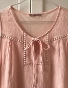 Pudrowa bluzeczka orsay S...