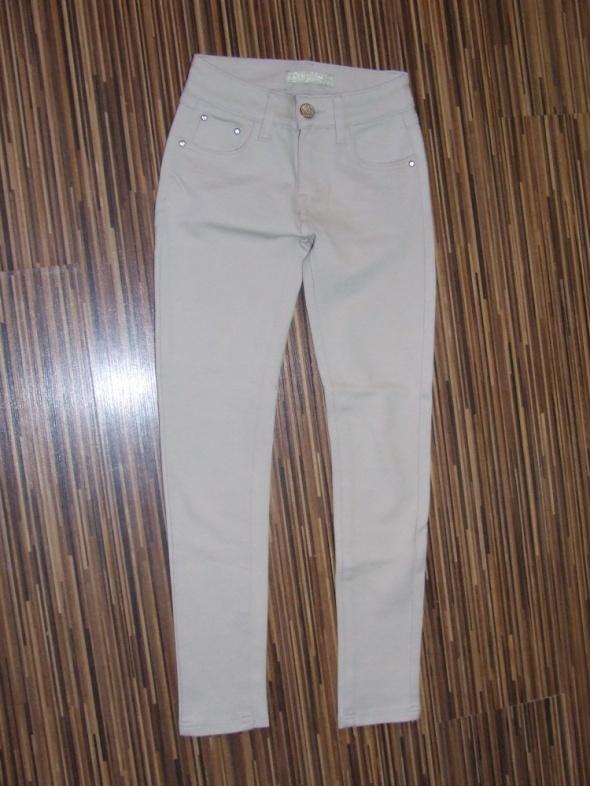 bezowe spodnie Miss RJ rozmiar S...