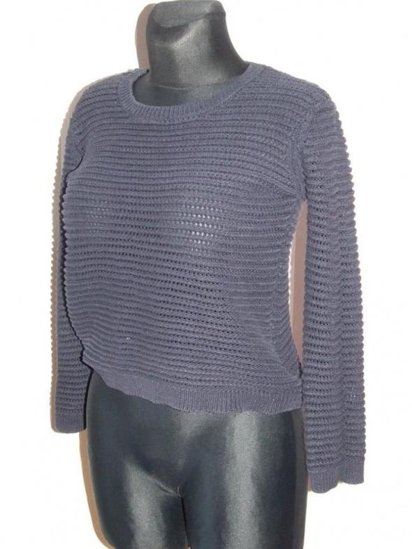 azurowy sweter Mango rozmiar M...